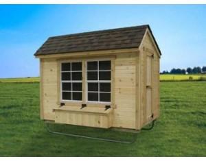 EZ-fit Chicken Coop 5ft X 8ft, chicken coop, hen house, homestead blog