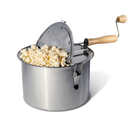 how to make popcorn on the stove, popcorn popper, old fashioned popcorn