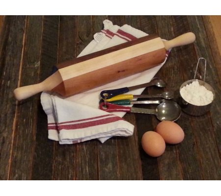hand crafted wooden rolling pin
