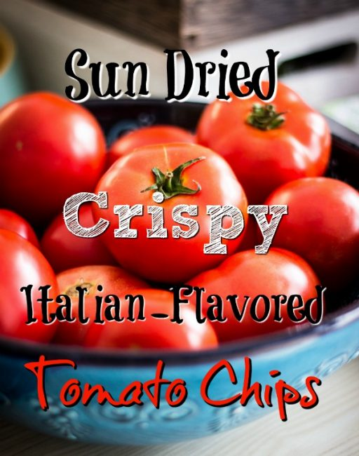 crispy tomato chips