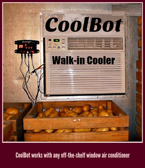 CoolBot Walk-in Cooler Taters