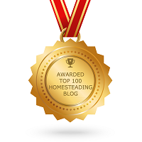 Top 100 Homesteading Blog Award