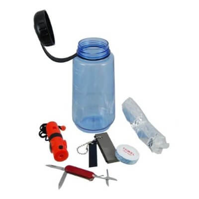 16 In 1 Survival Bottle Kit