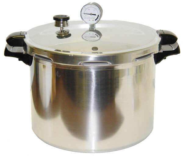 Aluminum 16 Qt Pressure Cooker and Canner