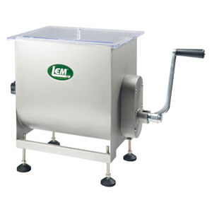 LEM 50 LB Stainless Steel Manual Meat Mixer