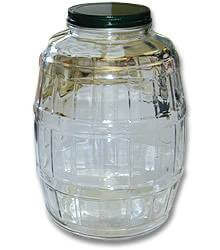 Butter Churn Glass Electric Replacement Jar