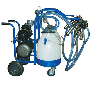 Eco Milker Portable Milking Machine for Two Animals