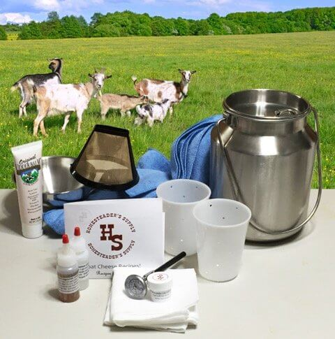 Master Milking and Cheesemaking Kit for Goats and Sheep