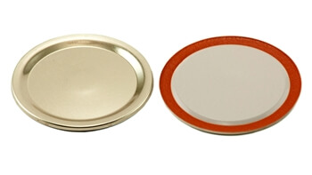 Bulk GOLD Canning Lids - One Dozen
