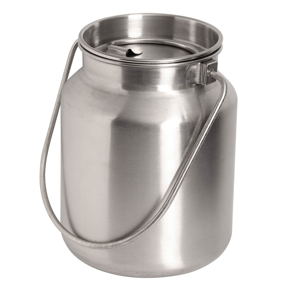 1 Gallon Stainless Steel Bucket with Lid