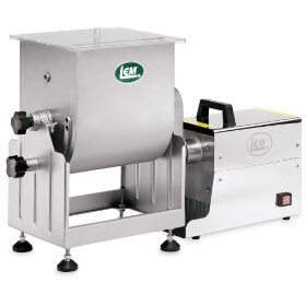 LEM 25 LB Stainless Steel Tilting Meat Mixers