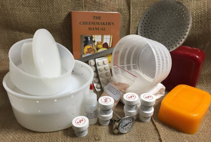 Supreme Cheesemaking Kit