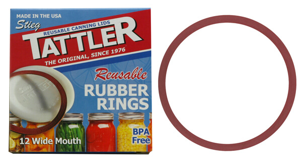 Rubber Seals for Tattler Wide Mouth Lids
