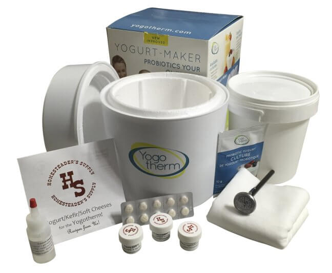 Yogotherm Yogurt and Cheese Making Kit
