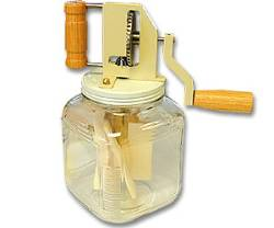 Butter Churn Hand Crank 2.5 Qt.