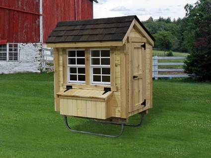 EZ-fit Chicken Coop 3Ft X 4Ft