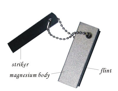 Emergency Fire Starter - Magnesium