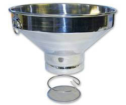 Milk Filter Strainer Stainless Steel with SS Mesh