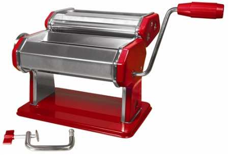 Pasta Maker by Roma Traditional Style Red Machine