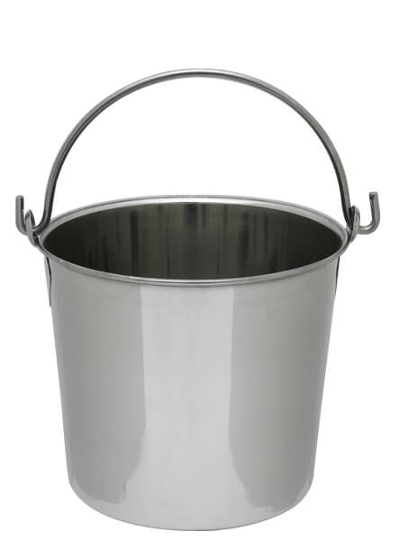 Stainless Steel Pail Heavy Duty - 8 quart
