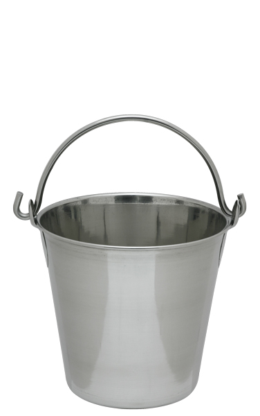 Stainless Steel Pail Heavy Duty - 2 quart
