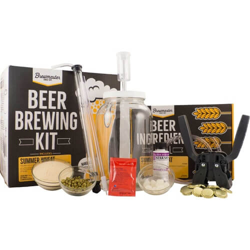 1 Gallon Homebrew Starter Kit-Summer Wheat Recipe