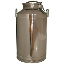 Toggle Lid Milk Can - 10 gallon