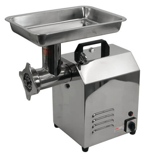 TSM Stainless Steel Electric Meat Grinder 1 HP