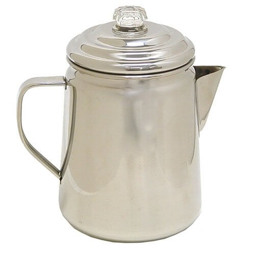 Stainless Steel 12 Cup Coffee Percolator