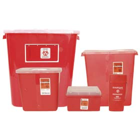 SharpeSafe Biohazardous Disposable System - 14 Qt.