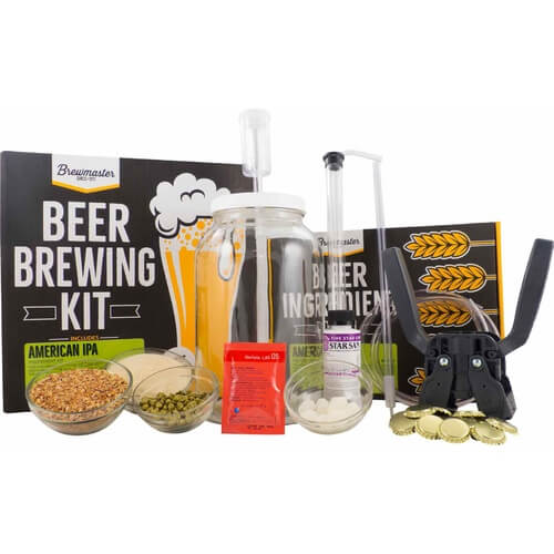 1 Gallon Homebrew Starter Kit (Includes American IPA Recipe Kit