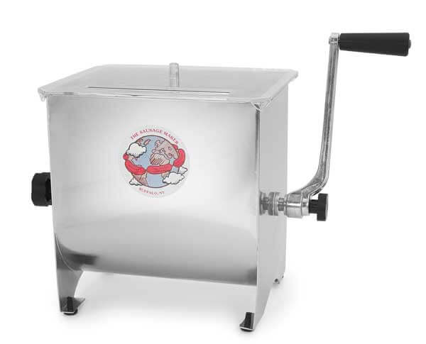 TSM 20 LB Stainless Steel Meat Mixer