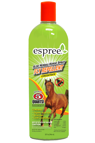 Espree Aloe Herbal Horse Fly Repellent - 32oz concentrate
