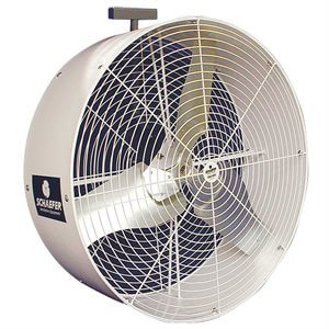 "36"" Schaefer Barn Kooler Fan 1-Speed 230 / 460V 3-Phase"