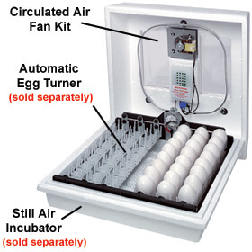 Incubator - Still Air Accessories - Circulated Air Fan Kit
