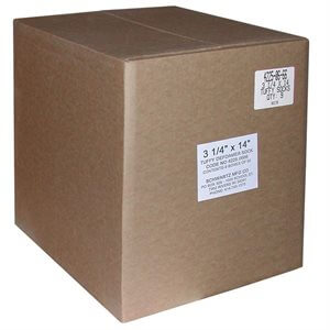 "Schwartz 3-1 / 4""x14"" Tuffy Defoamer Socks--9 Boxes of 50"