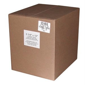 "Schwartz 3-1 / 4""x12"" Tuffy Defoamer Socks--9 Boxes of 50"
