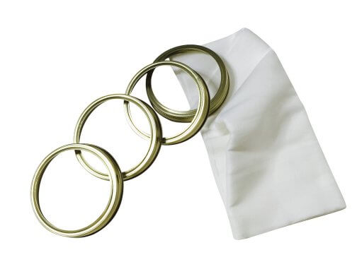 Cheese Cloth and Wide Mouth Canning Rings
