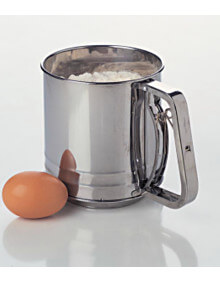 Flour Sifter 5-cup Squeeze Handle Stainless Steel