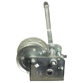 Manual Winch for 4 Wheel Hog Cart