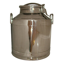 Toggle Lid Milk Can - 5 gallon