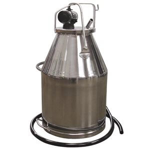 Stainless Steel Bucket Assembly 80 lb for One Cow