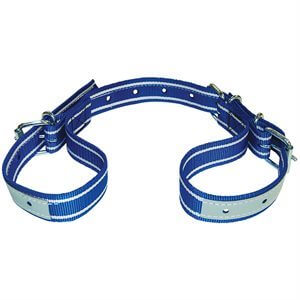 Adjustable Heavy-Duty Cow Hobble--Blue & White
