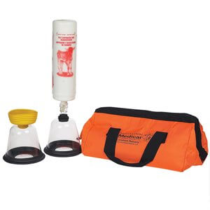 Calf Resuscitator / Aspirator Kit