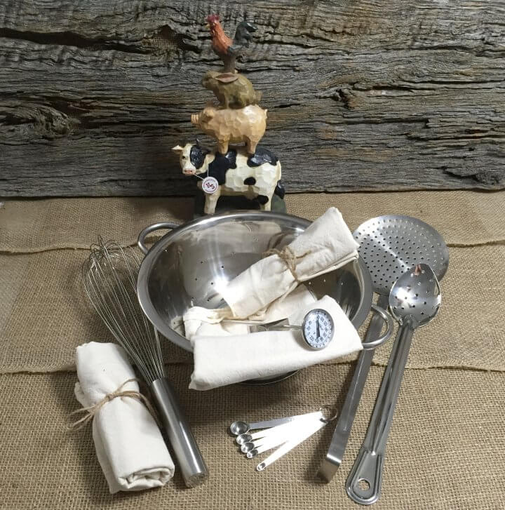 Cheese Making Tools Kit
