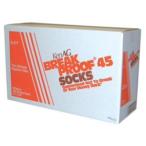 "KenAg 2-1 / 4""x24"" Breakproof Filter Sock--6 x 100"