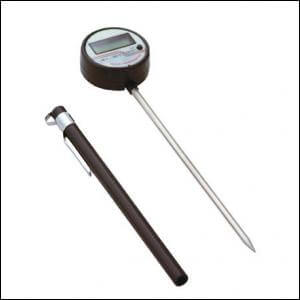 Digital Thermometer with Moving Head