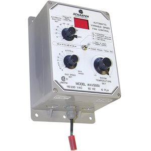 Digital Speed Modulator with Automatic Shut-Off forSchaefer Fan