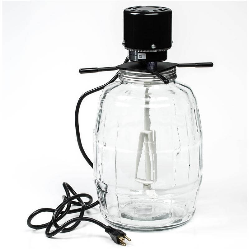 Butter Churn Glass Electric