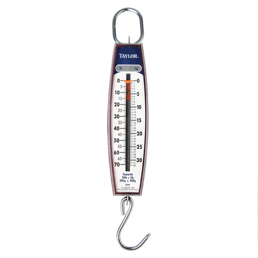70 Lb. (32 Kg) Capacity Hanging Scale